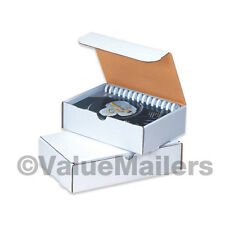 50 - 13 x 13 x 3 White Shipping Mailer Literature Box Packing Boxes