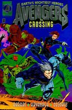 AVENGERS: THE CROSSING (1995) #1 NM MIKE DEODATO JR CHROMIUM COVER