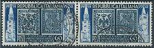 1952 ITALIA USATO MODENA E PARMA 60 LIRE COPPIA - ED307