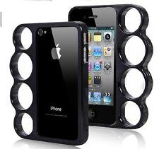 Coque Iphone 4 4S POING AMERICAIN NOIR Noire BUMPER Fashion Case Black Knuckle