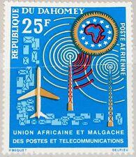 DAHOMEY 1963 221 C19 African Postal Union Post Mail Plane Communication MNH