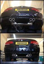 BMW M3 STYLE EXHAUST CONVERSION.320D.325D.325I.330D.330I,E90,E92,E93.EXHAUST