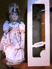 DIONNE Limited Edition 16-Inch PORCELAIN Doll (New/Boxed) + 16-Inch Unknown Doll