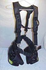 AWP Tool Belt Dual Bag General Construction Carpenter Framer Polyester Tool Rig