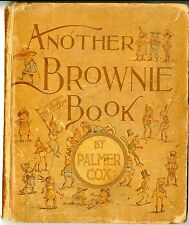"""Another Brownie Hard Cover Book  1890   GOOD   size  8 1/2"""" X 10 1/4"""""""