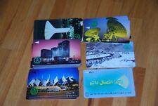 Telefonkarten Saudi-Arabien, 1990er 24 Stück