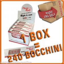 Microbocchini RYO 6 mm David Ross 24 blister da 10 pz