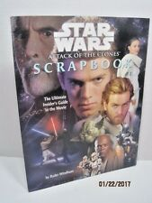Star Wars Attack of The Clones Scrapbook by Ryder Windham
