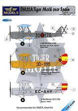 LF Models Decals 1/48 DE HAVILLAND DH.82A TIGER MOTH OVER SPAIN