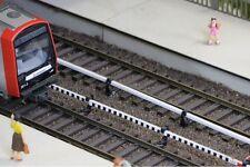 Stadt im Modell 9110 Stromschienen Attrappe 100cm 1m U-Bahn S-Bahn H0 1:87