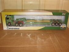 CARARAMA - DIE CAST & PLASTIC VOLVO FH GLOBETROTTER & LOW LOADER - 1:50 SCALE