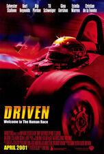 DRIVEN  Original Studio Released Licensed 27X40 Movie Poster SYLVESTER STALLONE