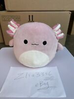 """Pink Axolotl 8"""" Squishmallow In Hand New Ship Now"""