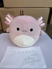 "Pink Axolotl 8"" Squishmallow In Hand New Ship Now"