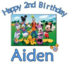 Mickey Mouse Clubhouse Custom Tshirt Personalize birthday party gift