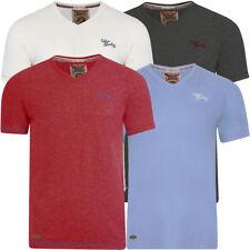 Cotton Blend V Neck Regular Size Singlepack T-Shirts for Men