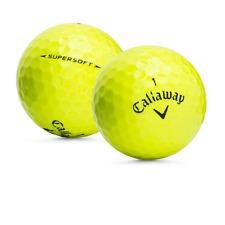 48 Callaway Supersoft Yellow Used Golf Balls / Mint AAAAA / Free Shipping