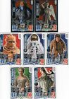 Doctor Who 50th Anniversary: foil cards Strax & Weeping Angels + 5 other trading
