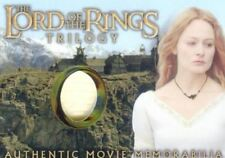 Lord of the Rings Trilogy Chrome Eowyn's Golden Hall Dress Costume Card