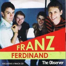 FRANZ FERDINAND rare Observer promotional CD (2005) indie music promo