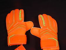Reusch Soccer Goalie Gloves SERATHOR Easy Fit Junior SZ 5 3772515S Orange SAMPLE