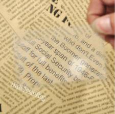 Lotto 10 pezzi Lente Fresnel x ingrandimento tascabile - tipo carta di credito