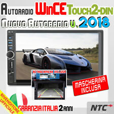 "AUTORADIO 2 DIN 7"" +Retrocamera FIAT PANDA 2003 > 2012  BLUETOOTH/MP3/AUX/SD/..."