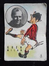 """FIGURINA FIDASS CALCIO 1950"" GREN (MILAN) !!!"