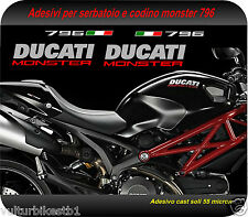 kit adesivi compatibile per ducati monster 796 decals stickers ducati monster