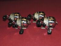Lot of 4 Cabelas All Pro Spincast Reels, Model #APSYN6 All Work Great