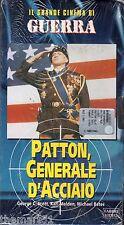Patton generale d'acciaio (1970) VHS F.lli Fabbri Video - NEW cellofanata