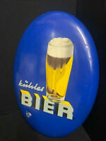Cool Cerveza Letrero de Metal - Alemania Alrededor De 1955 Heinz Fehling 3