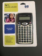 New HP 9S Scientific Calculator.