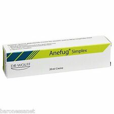 anefug simplex getönt medizinische cream-ölige & sensible poren, blains, komedonen