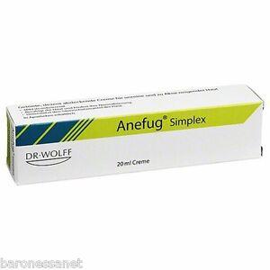 ANEFUG simplex tinted medical cream-oily & sensitive pores, blains, comedones