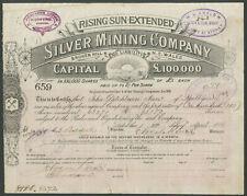 More details for australia: rising sun extended silver mining co. nl., broken hill, nsw, £1 sh...