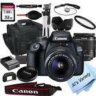 Canon EOS 2000D / Rebel T7 24.1MP  DSLR Camera + 18-55mm Lens-18PC Bundle