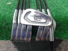 Team Daiwa Forged Cavity 153ms-02 Iron Set 3-10 Irons Graphite Stiff Flex NEW RH