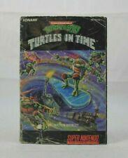 Teenage Mutant Ninja Turtles IV: Turtles in Time (SNES) - Manual Only
