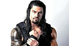 "WWE Roman Reigns ( white background ) 24 x 36"" Poster"