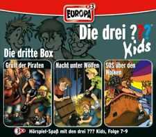 3 CDs * DIE DREI ??? (FRAGEZEICHEN) KIDS - BOX 3 - FOLGEN 7 - 9 # NEU OVP =