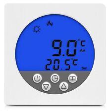 Digital Thermostat Raumthermostat Fußbodenheizung Wandheizung LED blau      #a33