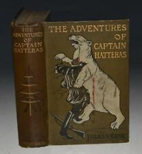 Jules Verne: The Adventures of Captain Hatteras; Two Stories in One Volume 1913