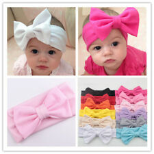 Newborn Infant Baby Kids Girls Cute Bow Tie Headband Hair Band Toddler Headwear