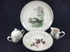 4-pc Hostess Set Noritake The Country Diary of an Edwardian Lady Chop Plate