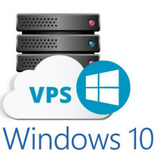 Windows 10  VPS (Fully Dedicated Resources) U.S.A. Servers 4GB RAM +200GB HDD