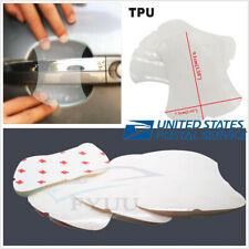 4 Pcs Autos TPU Door Handle Scratch Protector Protective Paint Anti-Scratch Film