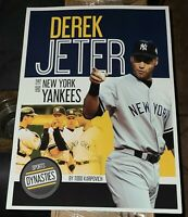 DEREK JETER NEW YORK YANKEES 12x18 HIGH QUALITY GLOSSY POSTER