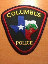 PATCH POLICE COLUMBUS - TEXAS TX