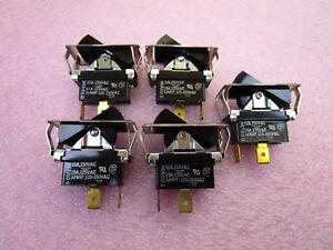(5 NEW) Carlingswitch TILA51-1S-BL-FN SPDT Rocker Switch ON-OFF 10A @ 250VAC
